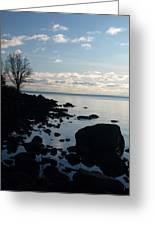Dawn At The Cove Greeting Card