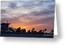 Dawn At Venice Beach Greeting Card