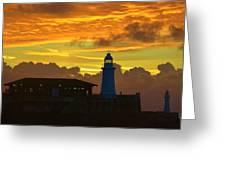 Dawn Departure Greeting Card