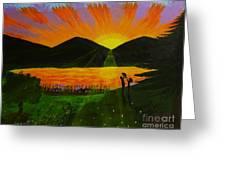 Dawn Dream Greeting Card