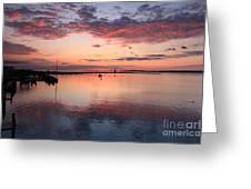 Dawn Edgartown Light Greeting Card