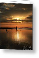 Dawn Edgartown Light II Greeting Card