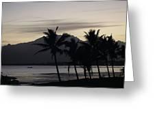 Dawn In Nadi Greeting Card