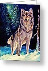 Dawn Of A New Day Original Painting Forsale Greeting Card