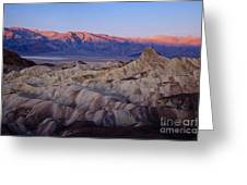 Dawn Over Death Valley Greeting Card