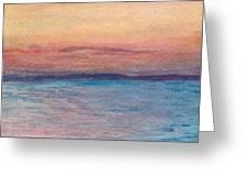 Dawn Over Troy Greeting Card