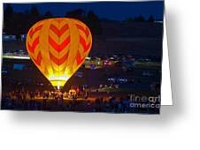 Dawn Patrol- Reno Balloon Race Greeting Card