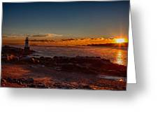 Dawn Rises Greeting Card