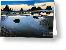 Dawn Seascape Greeting Card