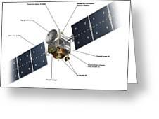 Dawn Spacecraft Greeting Card