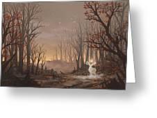 Dawn Spirit Greeting Card