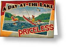 Day At The Lake Greeting Card