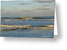 Day At The Ocean Greeting Card