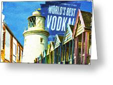 Day At The Seaside Greeting Card