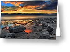 Daybreak In Craigleith Greeting Card