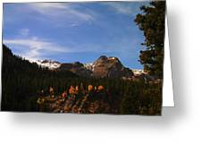 Day Dreaming In Colorado Greeting Card