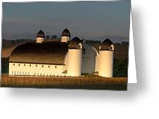 Day Farm Barn Greeting Card
