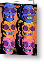 Day Of The Dead Ink Greeting Card