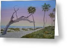 Daybreak At Edisto Greeting Card