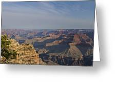Daybreak At The Canyon Greeting Card