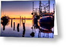 Daybreak On Pensacola Bay Greeting Card