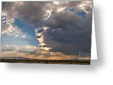 Daybreak Panorama Greeting Card
