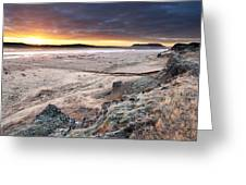 Daybreak  South West Iceland Greeting Card