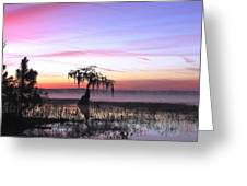Daybreak Greeting Card by Will Boutin Photos