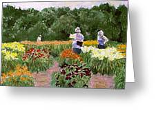 Daylily Decisions Greeting Card