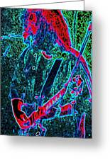 Days Between - Jerry Garcia - Musicians Greeting Card