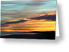 Days End At Kiawah Island Greeting Card