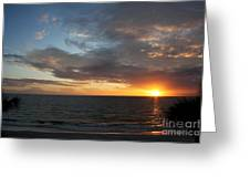 Days End Beauty Greeting Card