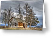 Days Gone By Greeting Card by Loree Johnson