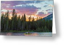 Day's Last Light Greeting Card