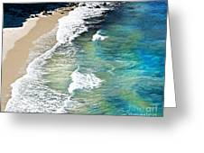 Days That Last Forever Waves That Go On In Time Greeting Card