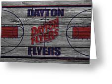 Dayton Flyers Greeting Card