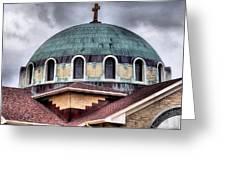 Dayton Mosque Greeting Card