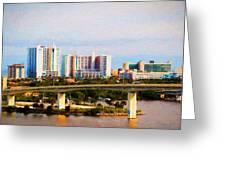 Daytona Bridge Greeting Card