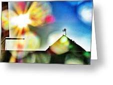 Dazzled By The Sun Greeting Card