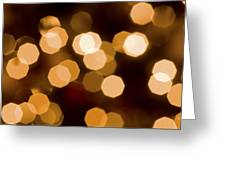 Dazzling Lights Greeting Card by Rich Franco