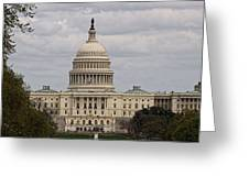 Dc Capitol Building Greeting Card