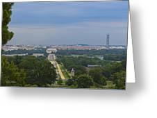 Dc View Greeting Card
