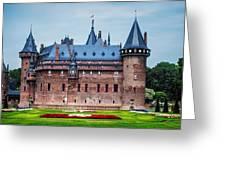 De Haar Castle. Utrecht. Netherlands Greeting Card