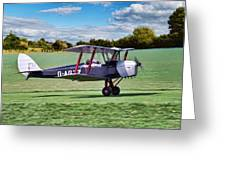 De Havilland Tiger Moth Greeting Card