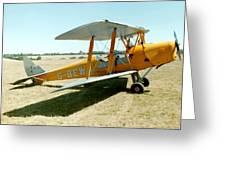 De-havilland Tiger Moth Greeting Card