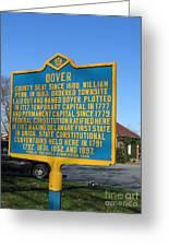 De-kc34 Dover Greeting Card