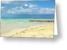 De Playa Greeting Card