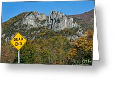 Dead End Greeting Card
