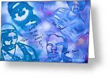 Dead Homiez Greeting Card