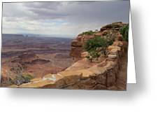 Dead Horse Point West Greeting Card